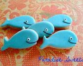 Baby Whale Sugar Cookies - 1 Dozen