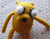 Jake the Dog from Adventure Time Amigurumi