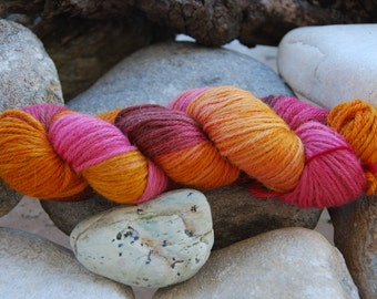 handdyed Alpacayarn - 100g - sports/DK weight - colour 15