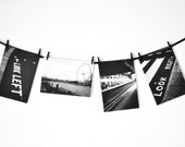 Set of 4 London Themed Thank You Cards