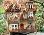 The Cinnamon Stick House - a OOAK Fairy Dollhouse