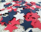 Star Confetti Red White and Blue Party Table Patriotic 4th of July Decorations Embellishments for Scrapbooking Card Making
