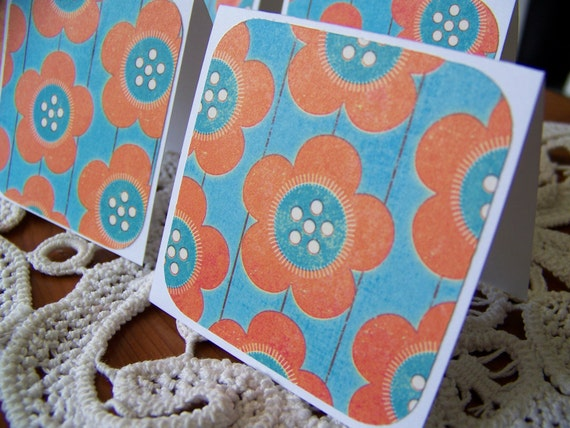 Mini Cards, Mini Thank You Thinking of You Lunch Box Notes - Set of 8