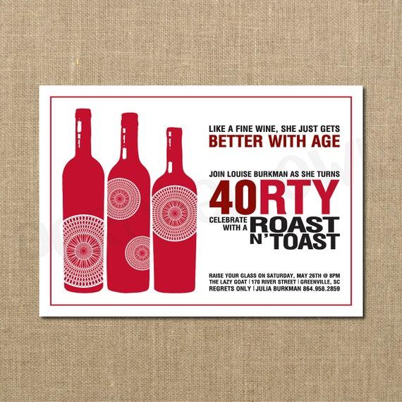 40Th Birthday Surprise Invitations with luxury invitations sample