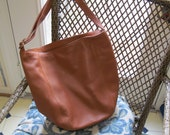 Large Coach Leather Tote