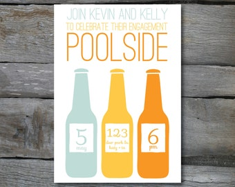 Three bottle Summer Invite