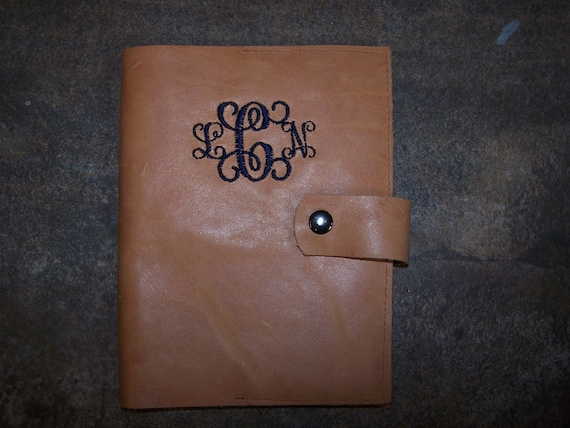 7 Custom Leather Journal Cover for Susan Bailey