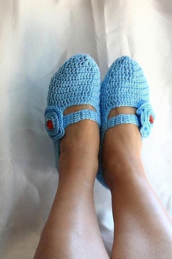 FREE SHiPPiNG Blue Healthy Booties Home slippers Dance classic yoga sexy hygienic light Naturel Silk cashmire crochet