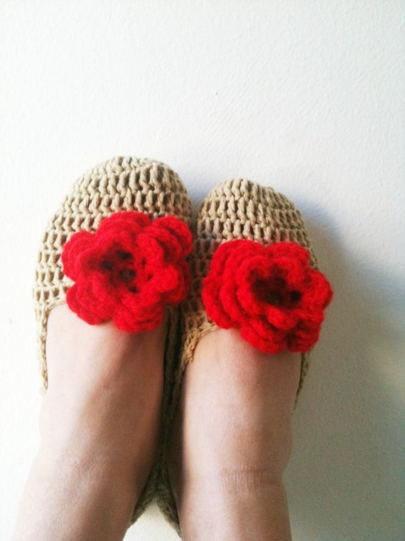 FREE SHiPPiNG   Healthy Booties Home slippers Dance classic yoga sexy hygienic light Naturel Silk cashmire crochet St Patrick Day