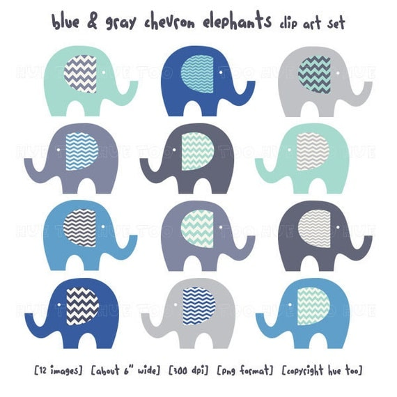 baby-shower-blue-elephant-clipart
