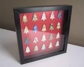 SALE: Multicolor Christmas Tree Art