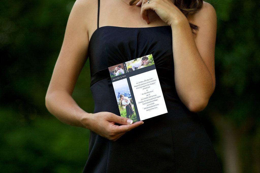 Wedding Invitations Memphis Tn: The Memphis Photo Wedding Invitation By BasicInvite On Etsy