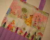 Crayon Bag in Disney Princess Print