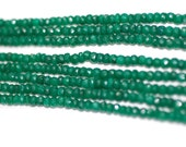 Heated Emerald Rondelle
