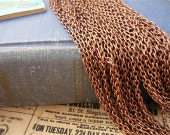 32 feet Copper Chain 3.5 x 2.5mm (CCN410)