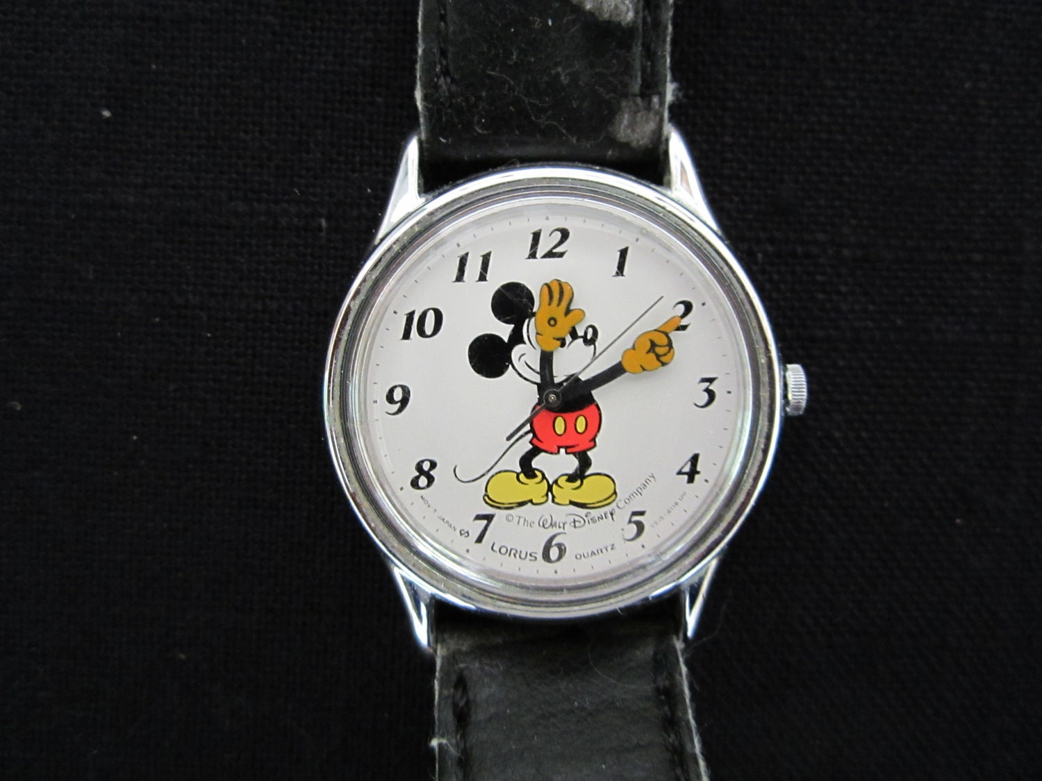 Vintage Mickey Mouse Disney Watch Lorus
