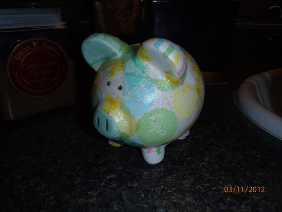 New Baby Piggy Bank