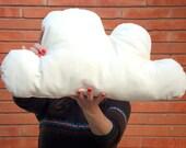 Cloud cushion pillow.