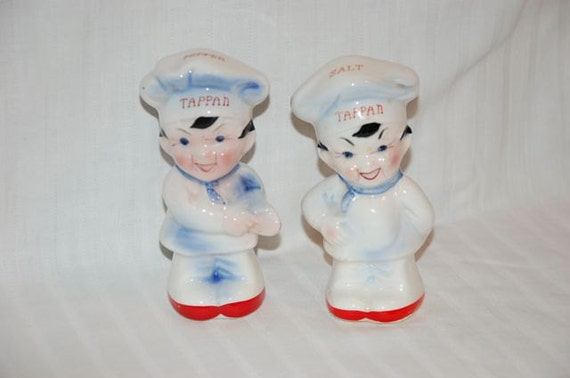 Tappan chefs shakers salt and pepper made in Japan