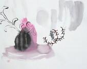original watercolor 15 x 11 inch