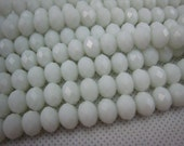 crystal bead, crystal faceted rondelle 10x6mm,15 inch