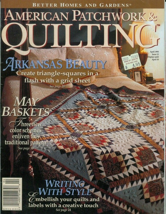 1995 American Patchwork Quilting Magazine Back Issue