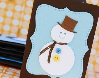 Frosty the Snowan Holiday Cards - set of 8