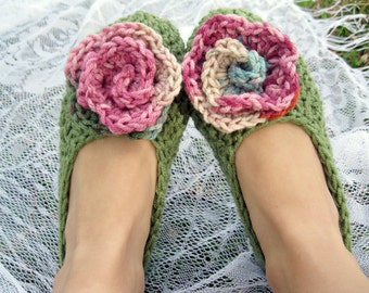 Blooming Flower Women's Slippers