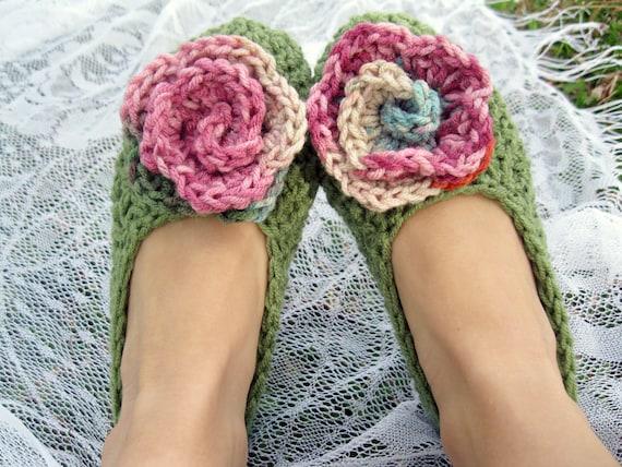 Blooming Flower Women's Slippers