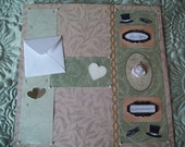 Premade Wedding Scrapbook Page Best Man