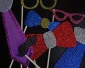 Photo Booth Props - set of 12