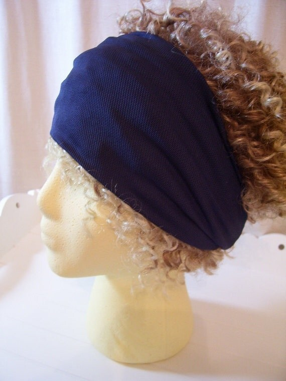 Moisture Wicking Headband - Navy