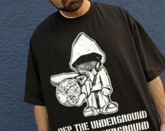 Underground Character Hip Hop T-Shirt
