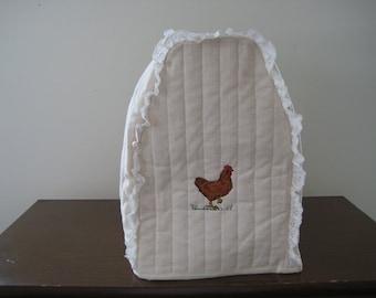Kitchen Mixer cover chicken design