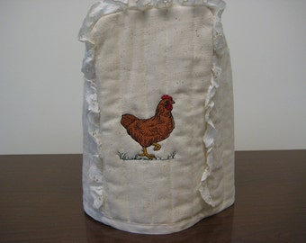 Can Opener cover Chicken design