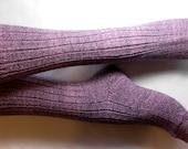 purple shaded cotton stretch SUMMER SOCKS SMALL 38/39