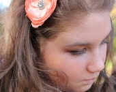 Soft Petals: Flower Headband
