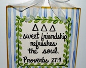 Delta Delta Delta Friendship Tile