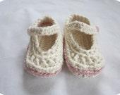 Baby Booties, Custom-Made Mary Janes
