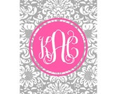Personalized Phone Case - Floral Design - More Colors Available
