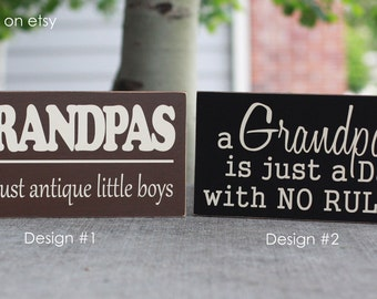 Grandpas-- Father's Day gift boards