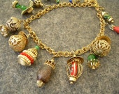 Vintage Napier Charms Bib Necklace Restoration
