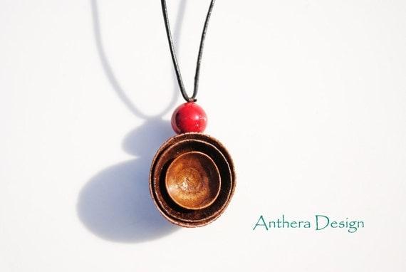 Acorn Unique Necklace - Women's Necklace - Rustic Natural Jewelry