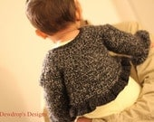 PATTERN Crochet Sweater Jacket Shrug Bolero Baby Newborn Toddler Classic Collection Dewdrops No 213