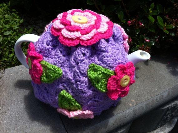Crochet Retro Tea Cosy