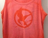 Hunger Games Logo T-shirt (size Large)