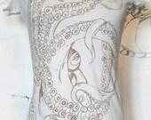 Tentacle Tee ...printed with octopus ink