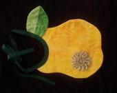 Pear Baby Bib