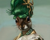 Sophisticated Squirrel Greeting Cards
