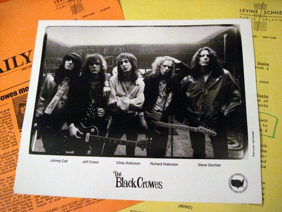 Black Crowes Rare Press Kit 1991